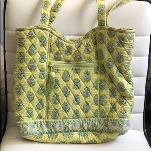 Vera Bradley Tote Bag Lime Green